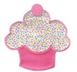 Fluffy Cupcake Applique Design-