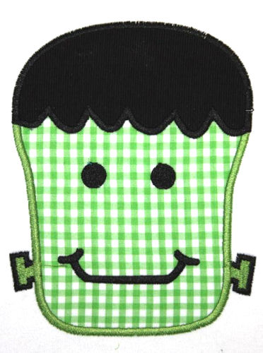 Frankie Applique Design-frankie, halloween, monster, fall, harvest