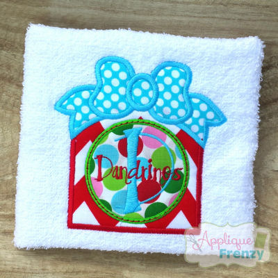 Christmas Gift with Circle Center Design-