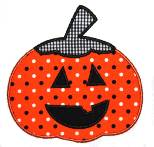 Jack O Lantern Applique Design