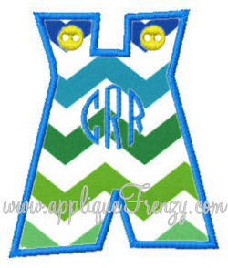 Jon Jon Applique Design-