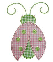 Ladybug Applique Design-