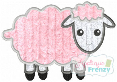 Lamb Applique Design-lamb, easter, resurection, jesus, salvation