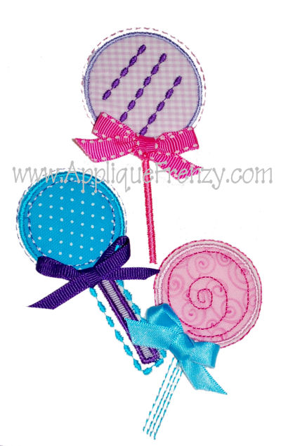Lollipop Trio Design-
