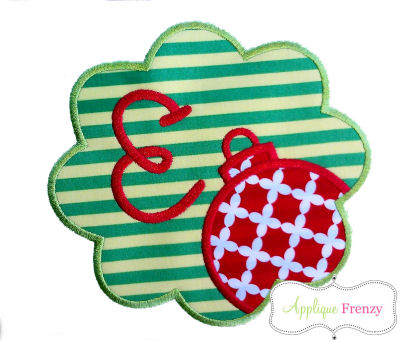 Ornament Scallop Patch-