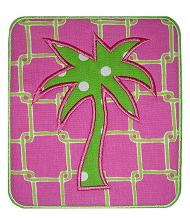 Palm Tree Patch Applique Design