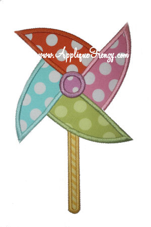 Pinwheel Applique Design-