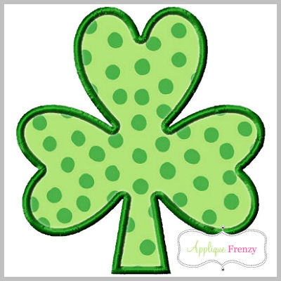 Shamrock2 Applique Design-