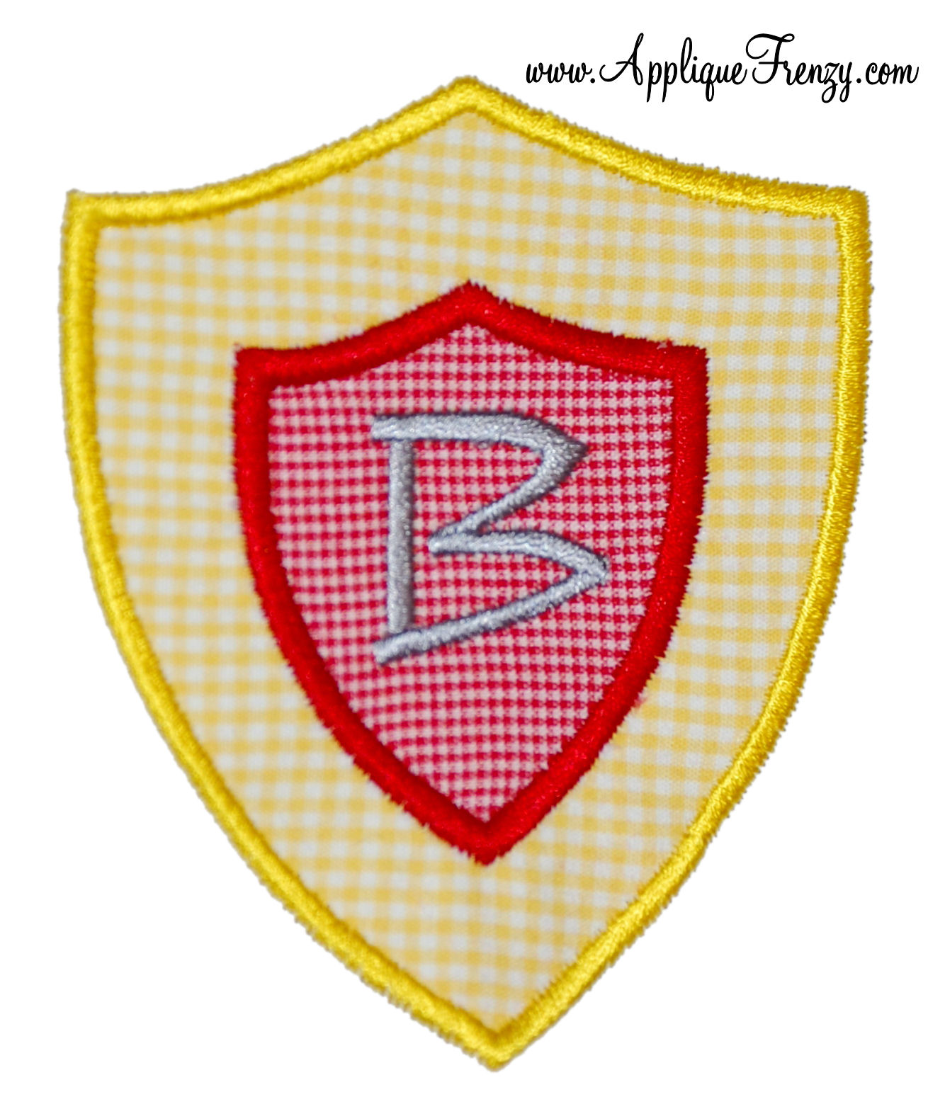 Knight Shield Applique Design