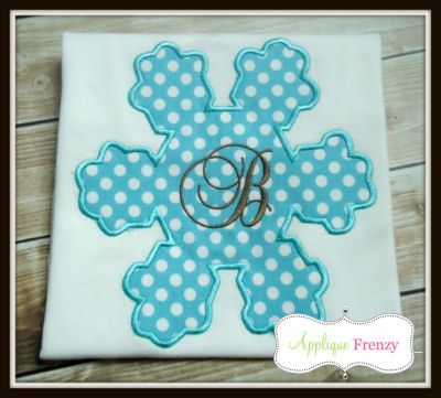 Snowflake 2 Applique Design-
