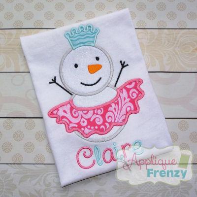 Snowgirl with a Tutu Design-