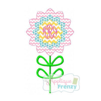 Spring Flower 1 Applique Design-