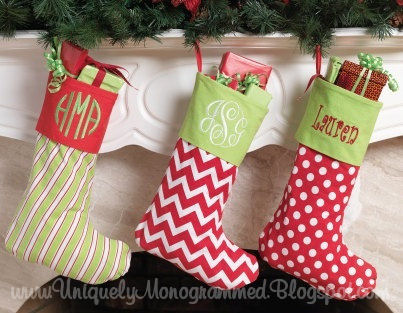 Christmas Stockings Personalized-christmas stockings, monogrammed stocking, santa, personalized christmas