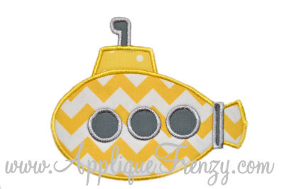 Submarine II Applique Design-