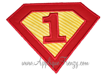 Super One Applique