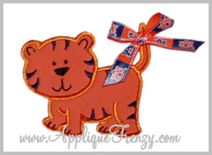 Tiger Applique -