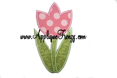Tulip Applique Design-