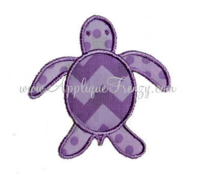Sea Turtle Applique Design-