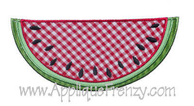 Watermelon Applique Design-
