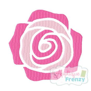 Whimsy Rose 2 Embroidery Design-flower, rose, spring, easter,